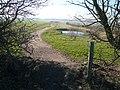 Longcourse Lane - View of Newly Created Footpath - geograph.org.uk - 688048.jpg