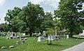Looking SE across sec 83 - Green Lawn Cemetery.jpg