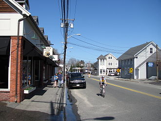 South Hamilton, Massachusetts - Looking north on Bay Road