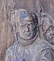 Lope-de-Figueroa.detalle del bajorrelieve de El alcalde de Zalamea en el munumento a Calderon en la plaza de santa Ana de Madrid.jpg