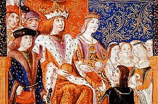 Catholic Monarchs of Spain Title for Queen Isabella I of Castile and King Ferdinand II of Aragon