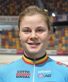 Lotte Kopecky Belgian cyclist