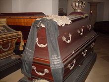 Sarkophag des Prinzen in der Hohenzollerngruft des Berliner Domes (Nr. 73) (Quelle: Wikimedia)