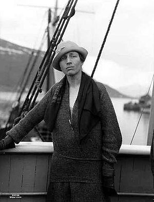 Louise Arner Boyd - Louise Boyd in 1928.