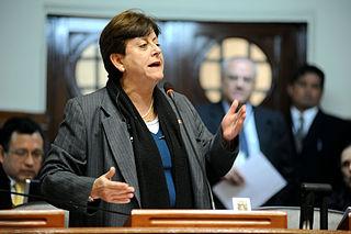 Lourdes Alcorta Peruvian politician
