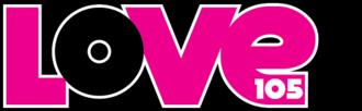 WGVX - Former logo under the Love 105 branding