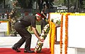 Lt Gen. J.S. Bajwa, Chief of Staff HQ Eastern Command laying wreath, at the Vijay Smarak War Memorial, on the occasion of Infantry Day, in Kolkata on October 27, 2010.jpg