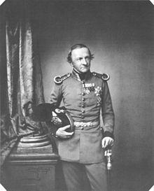 Ludwig I., Fotografie von Franz Hanfstaengl, ca. 1860 (Quelle: Wikimedia)