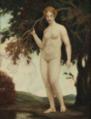 Ludwig von Zumbusch (attr) Weiblicher Akt in einer Landschaft.png