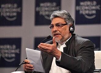 Impeachment of Fernando Lugo - Fernando Lugo in 2010