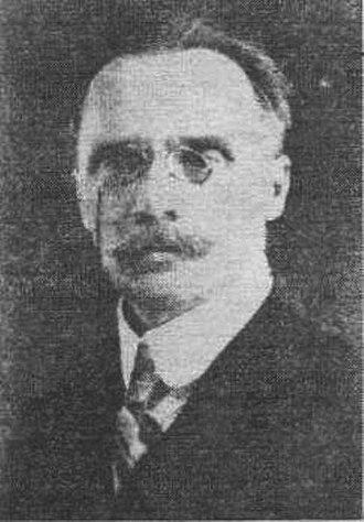 Kuban People's Republic - Luka Bych, the First Chairman of the Kuban People's Republic.