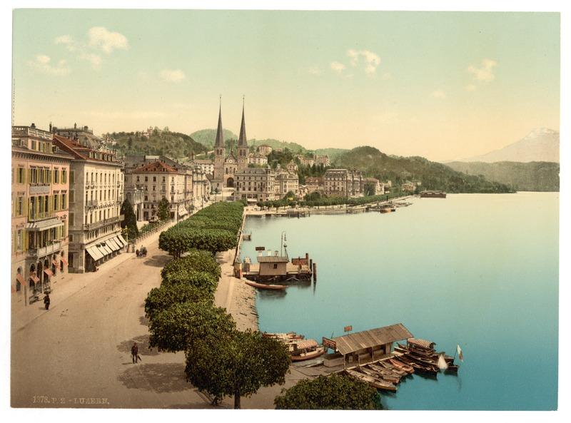 File:Luzern Schweizerhofquai mit Hofkriche.tiff