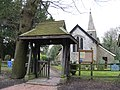 Lych Gate, Church, Burstow, Surrey - geograph.org.uk - 1728141.jpg