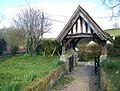 Lych gate, St John the Baptist Church, Ebbesbourne Wake - geograph.org.uk - 742404.jpg