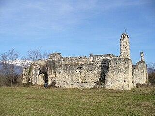 Die Ruinen des Fürstenpalasts