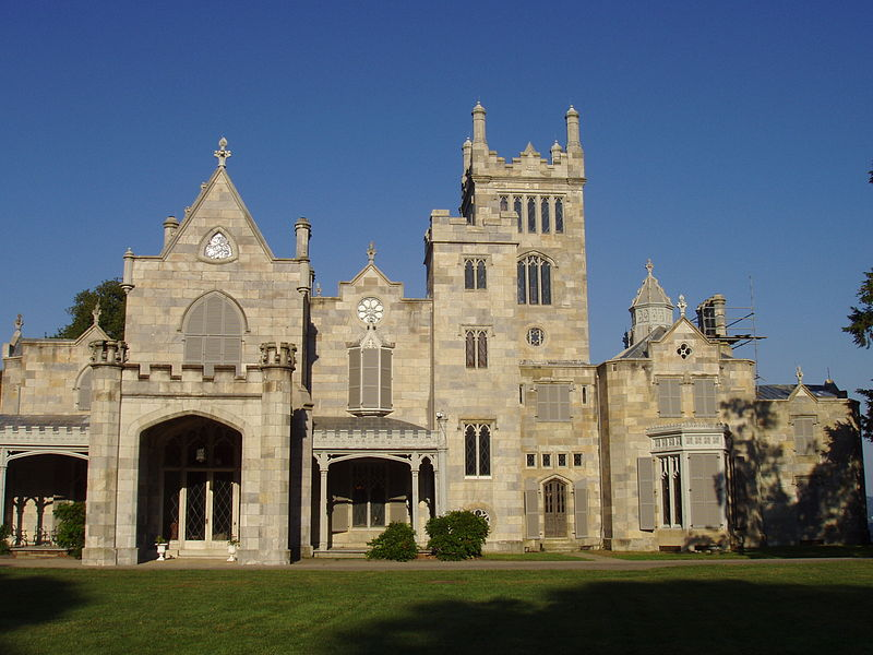 Lyndhurst, gothic revival mansion in Historic Hudson Valley