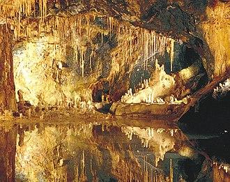 Saalfeld Fairy Grottoes - Image: Märchendom Saalfelder Feengrotten