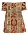 MCC-21689 Rode dalmatiek met annunciatie, visitatie en aanbidding der herders, Cyriacus, Petrus e.a. (2).tif