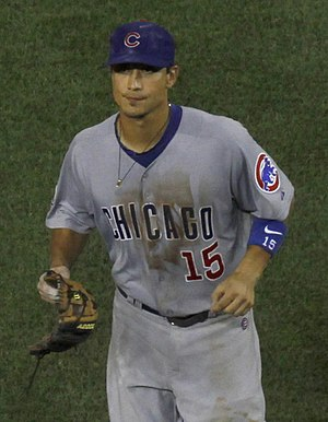 Darwin Barney - Barney with the Chicago Cubs in 2011