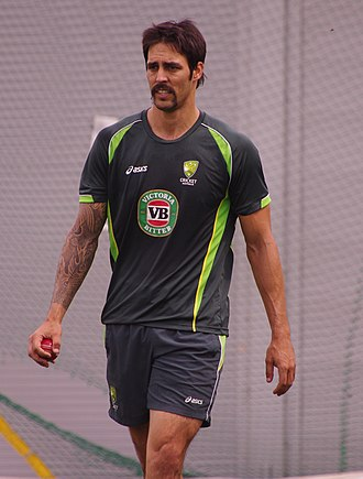 Mitchell Johnson (cricketer) - Johnson in 2014.