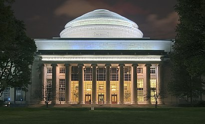 The Great Dome at the Massachusetts Institute of Technology