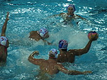 MNE vs CRO 2010 Men's European Water Polo Championship.JPG