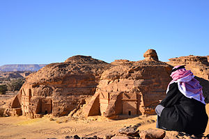 Saudi Arabia - The ancient archaeological site of Mada'in Saleh