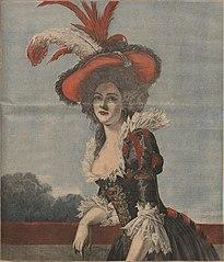 Portrait de Madame Elisabeth fille de Louis XV (1727 – 1759)