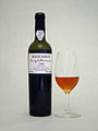 Madeira Barbeito Medium Dry Colheita-1999 Canteiro - Bottle + Glass.jpg