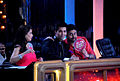 Madhuri Dixit, Karan Johar, Abhishek Bachchan on the sets of 'Jhalak Dikhhlaa Jaa 5'(5).jpg