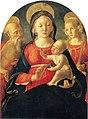 Madonna-and-child-with-saint-jerome-and-a-female-saint-Пьеро ди Франческо Ориоли,(Сиена)ок.1490.jpg