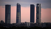 Madrid Cuatro Torres Business Area