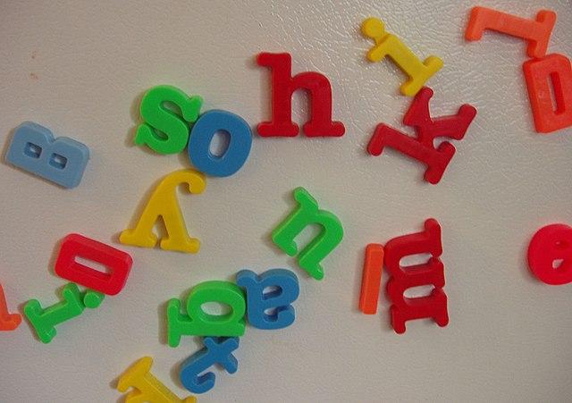 Magnetic Alphabet Letters Tesco