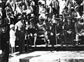 Magyar Elek a Tour de Hongrie közönsége közt (első sor jobbról a második). Fortepan 55258.jpg