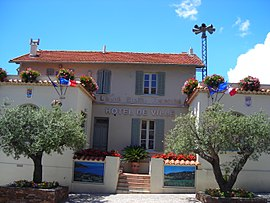 The town hall of La Croix-Valmer