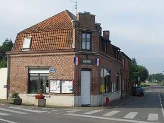 Warneton - Image: Mairie de Warneton (France)