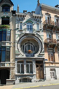 Art nouveau en belgique wikip dia - Maison de l art nouveau ...