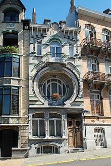 Art nouveau en bruselas wikipedia la enciclopedia libre for Maison minimaliste belgique