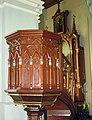 Majewo Kościelne - kościół, ambona.jpg