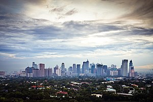 The Amazing Race Philippines 2 - Much of the first leg took place in the business districts of Makati and Taguig.