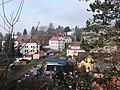 Malé Svatoňovice, pohled z Nádražní ulice.jpg