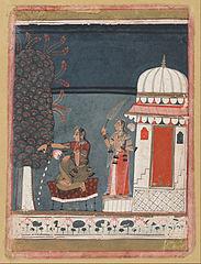 Malasri Ragini from a Ragmala series