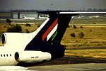 Malev Tu 154 HA-LCV at BUD (16126571495).jpg
