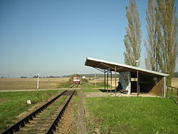 Malovice u Netolic train stop.JPG