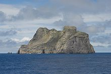 Image of Malpelo Island, viewed from the south