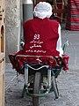 Man on Barrow - Souq Waqif - Doha - Qatar (33804156453).jpg