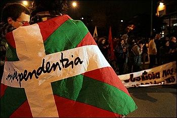 Manifestaci%C3%B3n nacionalista vasca en Montevideo