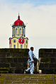 Manila City Hall Clock Tower View from Intramuros Wall.jpg