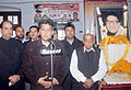 Manish Tewari addressing at the Shardhanjali Samagam of the former Punjab Minister, Late Shri Joginder Pal Pandey, who was gunned down by terrorists during the period of militancy in Punjab, on his 27th death anniversary.jpg