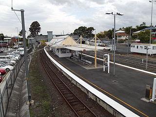 Manly railway station railway station in Brisbane, Queensland, Australia